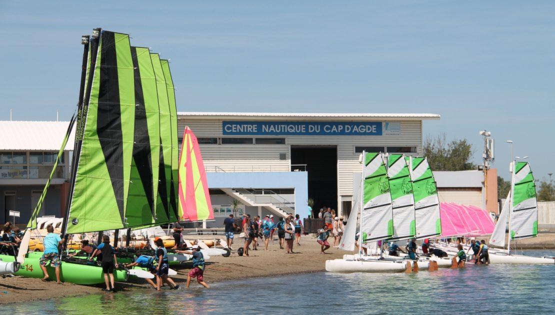Photo du centre nautique du cap d'agde