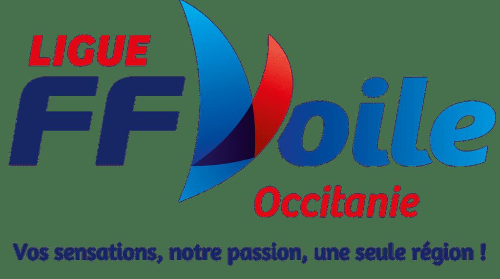 logo de la ligue de voile occitanie